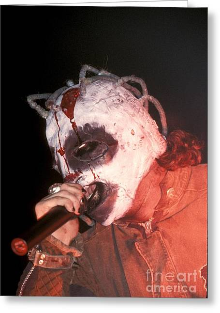 Slipknot Greeting Cards - Slipknot Greeting Card by Front Row  Photographs