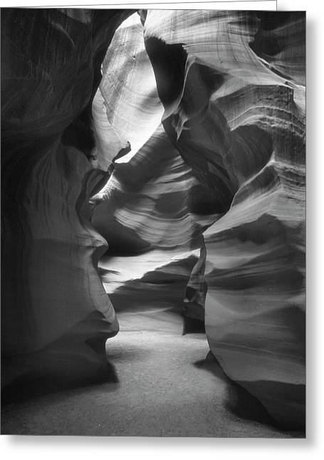 Formation Greeting Cards - Slot Canyon 2 Greeting Card by Mike McGlothlen