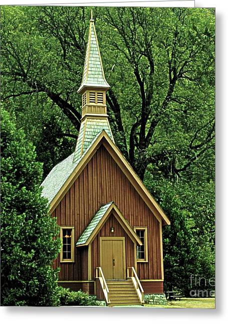 Small Chapel  Greeting Card by Kathleen Struckle