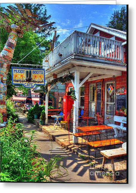 Small Town America 3 Greeting Card by Mel Steinhauer
