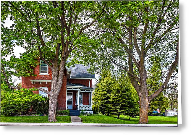 Small Town Prints Greeting Cards - Small Town Ontario Greeting Card by Steve Harrington
