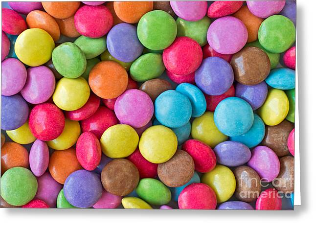 Sweetie Greeting Cards - Smarties Greeting Card by Delphimages Photo Creations