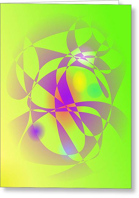 Gradations Digital Art Greeting Cards - Smell of Green Grass Greeting Card by Masaaki Kimura