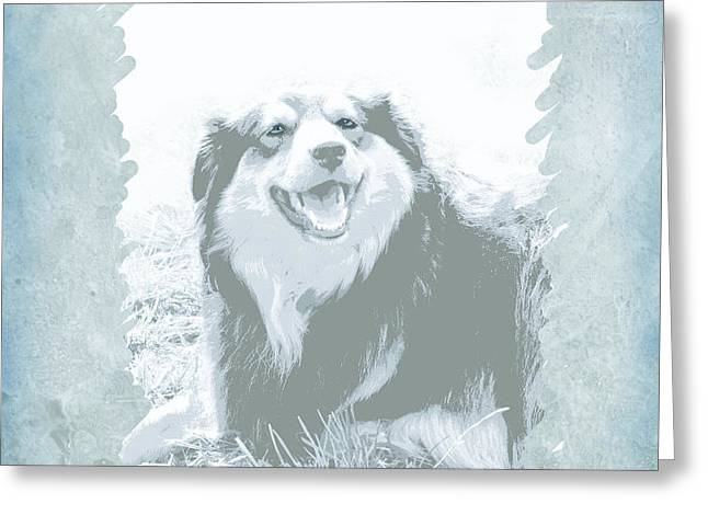 Smile Greeting Card by Ann Powell