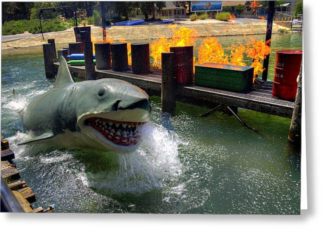 Jaws Greeting Cards - Smile Greeting Card by Ricky Barnard
