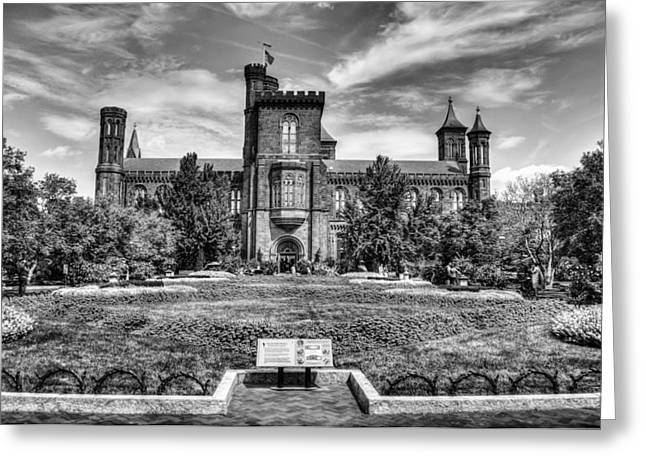 Smithsonian Greeting Cards - Smithsonian Castle Greeting Card by Dado Molina