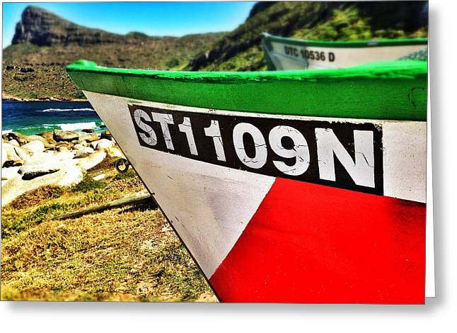 Cape Town Greeting Cards - Smitswinkelbaai Greeting Card by Olivier Calas