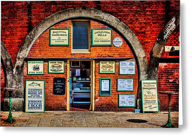 Fish Digital Art Greeting Cards - Smoke Me  A Kipper And Ill Be Back For Breakfast Greeting Card by Chris Lord