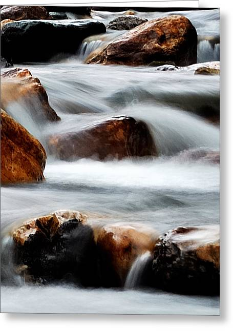Message Art Greeting Cards - Smoke On The Water Greeting Card by Steven Milner