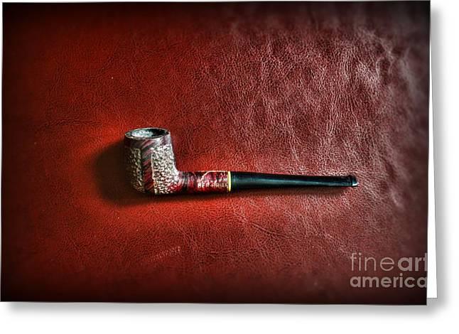 Smoker - Pipe 4 - The Ber-briar Greeting Card by Paul Ward