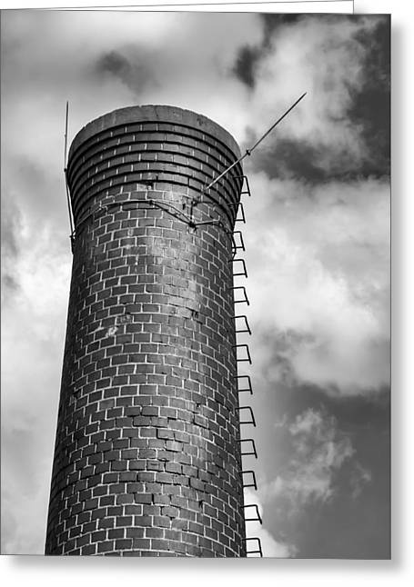 Smokestack Greeting Cards - Smokestack Greeting Card by James Barber