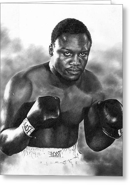 Smokin' Joe Greeting Card by Peter Williams