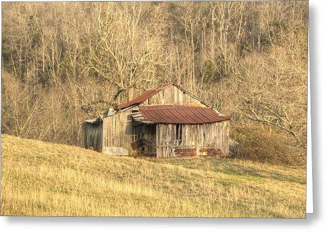 Tennessee Barn Greeting Cards - Smoky Mountain Barn 11 Greeting Card by Douglas Barnett