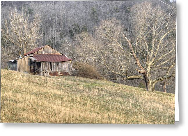 Tennessee Barn Greeting Cards - Smoky Mountain Barn 4 Greeting Card by Douglas Barnett