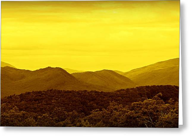 Gatlinburg Tennessee Greeting Cards - Smoky Mountain Glow Greeting Card by Stephen Stookey