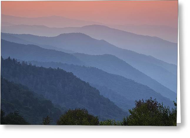 Wilderness Greeting Cards - Smoky Mountain Morning Greeting Card by Andrew Soundarajan