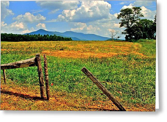 Tennesee Greeting Cards - Smoky Mountain National Park Greeting Card by Frozen in Time Fine Art Photography