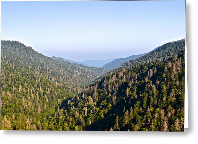 Marvelous View Greeting Cards - Smoky Mountain View Greeting Card by Frozen in Time Fine Art Photography
