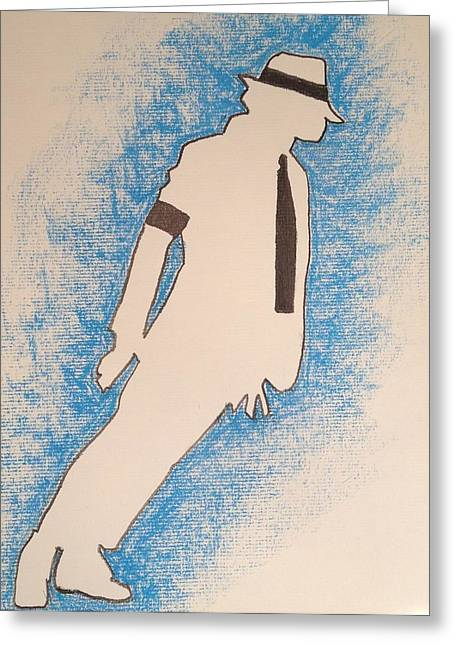 Smooth Criminal Greeting Cards - Smooth Criminal Greeting Card by Peter Virgancz