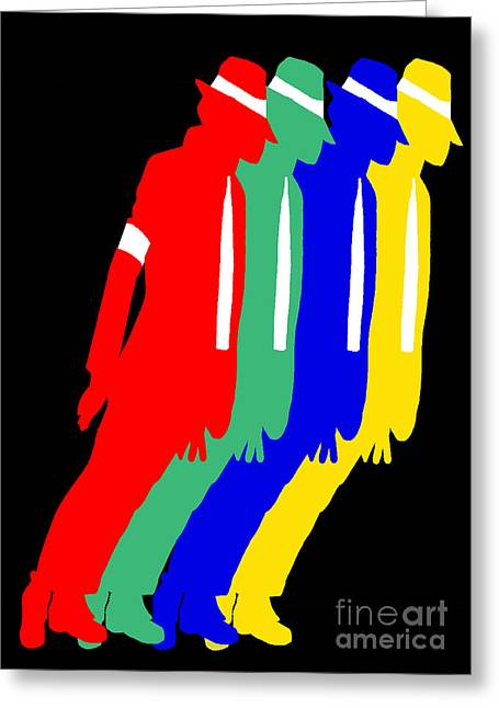 Smooth Criminal Greeting Cards - Smooth Criminal Greeting Card by Stanley Slaughter Jr