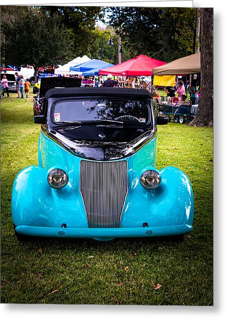 Autos Greeting Cards - Smooth Greeting Card by David Morefield