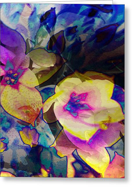 Photomanipulation Paintings Greeting Cards - Smooth Greeting Card by Ronaldo Weigand