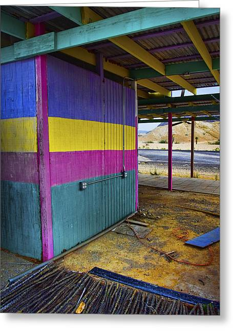 Terlingua Texas Greeting Cards - Snack Attack Greeting Card by Skip Hunt