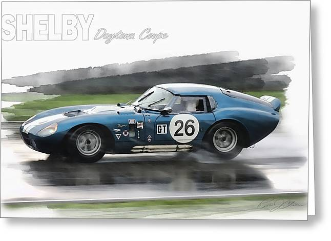 Shelby Greeting Cards - Snake In The Rain Greeting Card by Peter Chilelli