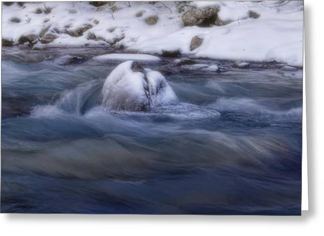 White River Digital Art Greeting Cards - Snake River - Summit County - Colorado Greeting Card by Ellen Heaverlo