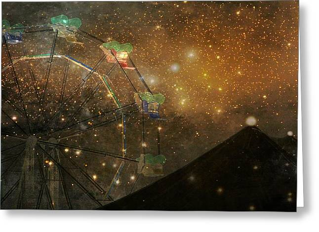 Surreal Images Greeting Cards - Snap And Crackle Greeting Card by Gothicolors Donna Snyder