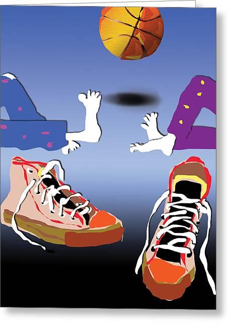 Sneakers Digital Art Greeting Cards - Sneakers Greeting Card by Dariusz Janczewski