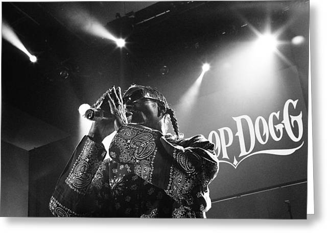 Doggy-style Greeting Cards - Snoop Dogg Greeting Card by Kings Davis