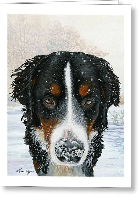 Snow Drifts Greeting Cards - Snow Bumper Greeting Card by Liane Weyers