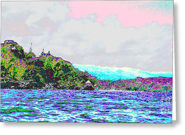 Ocean Landscape Greeting Cards - Snow-capped Mountain Greeting Card by Bryan Eaton