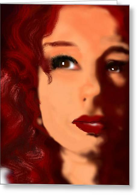 Tori Amos Greeting Cards - snow cherries from France Greeting Card by Stephen Zajchowski