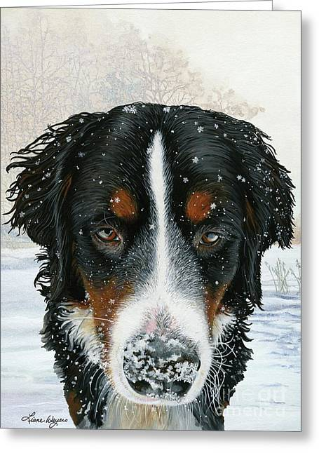 Berner Greeting Cards - Snow Day Greeting Card by Liane Weyers