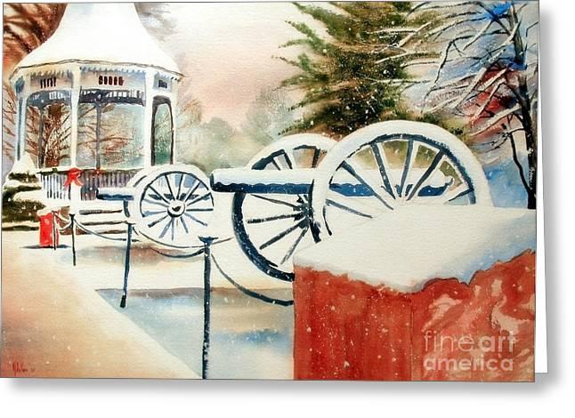 Snow II Greeting Card by Kip DeVore
