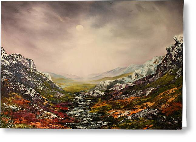 Jean Walker Greeting Cards - Snow on the Cairngorms Greeting Card by Jean Walker