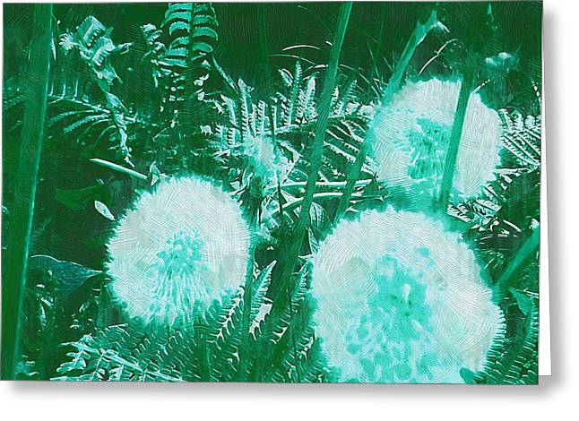Snowballs In The Garden Greeting Card by Pepita Selles