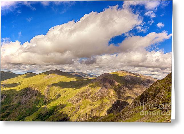 Beautiful Scenery Greeting Cards - Snowdonia Greeting Card by Jane Rix