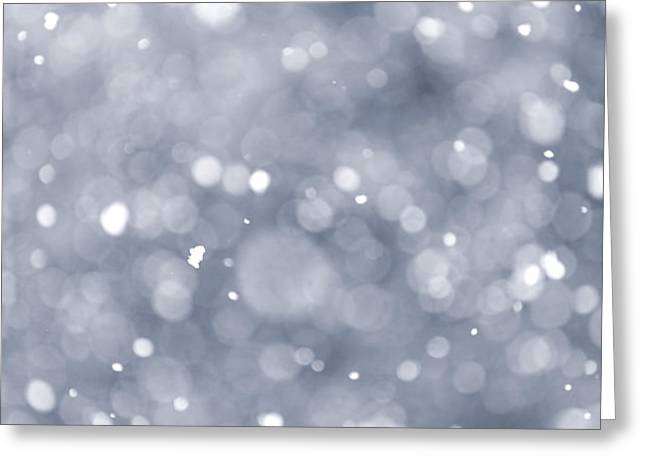 Snowfall  Greeting Card by Elena Elisseeva