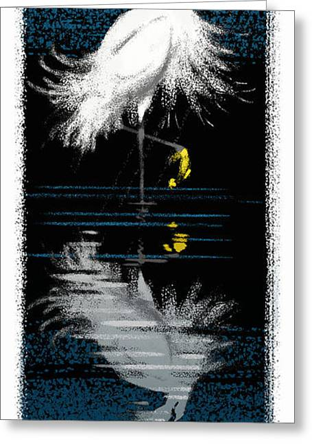 Wading Bird Greeting Cards - Snowy Egret Greeting Card by Aaron Blaise