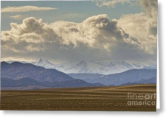 Snowy Rocky Mountains County View Greeting Card by James BO  Insogna