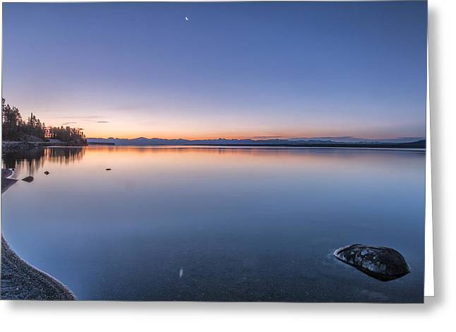National Parks Photos Greeting Cards - So Quiet Greeting Card by Jon Glaser