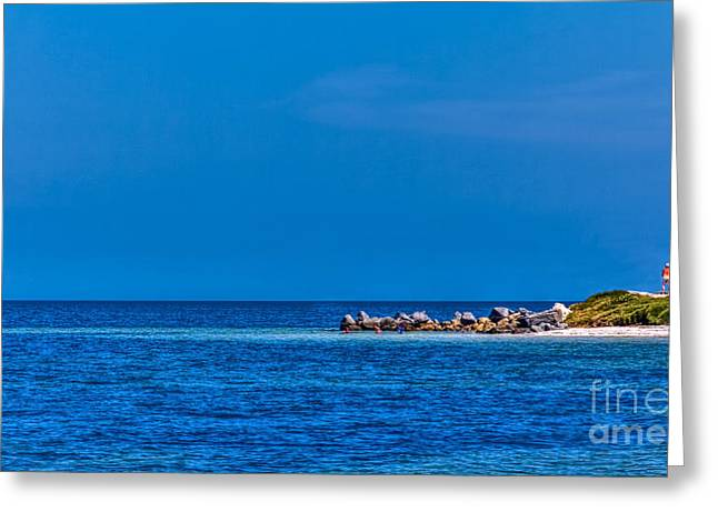 Sandy Point Park Greeting Cards - So this is the Gulf of Mexico Greeting Card by Marvin Spates