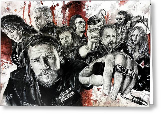 Fx Greeting Cards - Soa Greeting Card by S G Williams