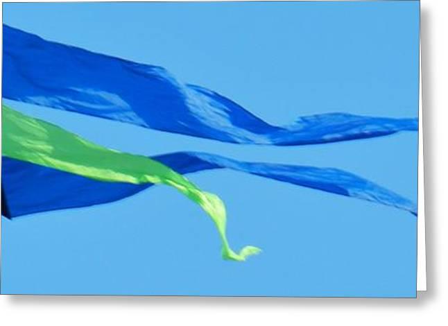 Kite Greeting Cards - Soar Greeting Card by Snapshot  Studio