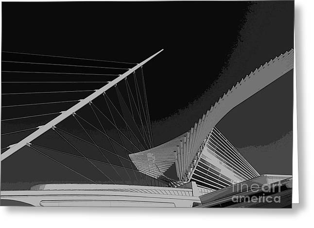Art Museum Greeting Cards - Soaring Greeting Card by David Bearden