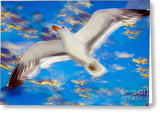 Soaring Greeting Card by Jon Neidert