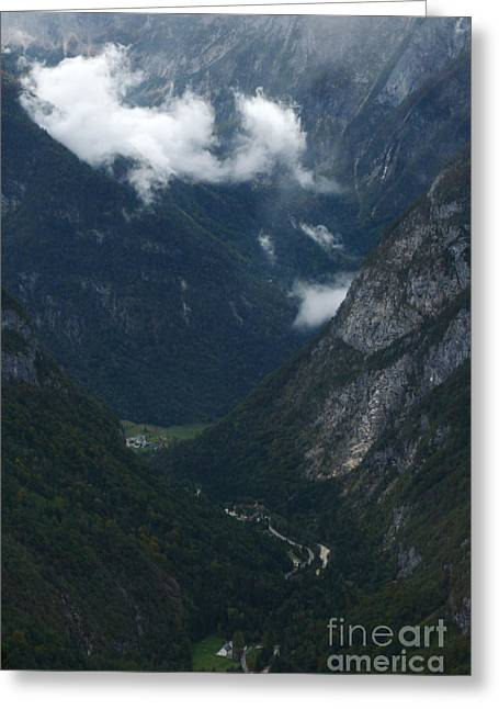 Gora Greeting Cards - Soca Valley - Julian Alps Greeting Card by Phil Banks